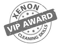 Xenon VIP cleaning award